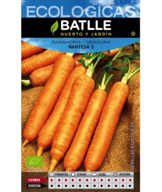 Zanahoria nantesa 2 sel. urgelbra