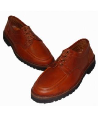 Zapato náutico ternera flor bloque